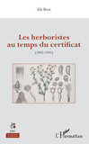 Les herboristes au temps du certificat
