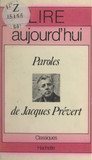 Paroles, de Jacques Prévert