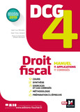 DCG 4 - Droit fiscal - Manuel et applications