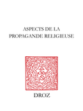 Aspects de la propagande religieuse