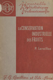 La conservation industrielle des fruits