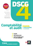 DSCG 4 - Comptabilité et audit -  Manuel et applications