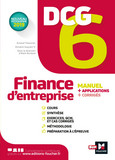 DCG 6 - Finance d'entreprise - Manuel et applications