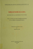 Mṛgendrāgama. Sections de la doctrine et du yoga