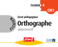 Fichier Orthographe 4 corrections