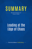 Summary: Leading at the Edge of Chaos