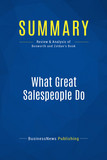 Summary: What Great Salespeople Do