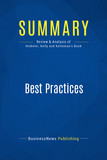 Summary: Best Practices