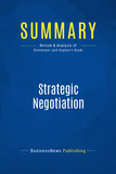 Summary: Strategic Negotiation