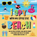 I Spy With My Little Eye - Beach | Can You Find the Bikini, Towel and Ice Cream? | A Fun Search and Find at the Seaside Summer Game for Kids 2-4!