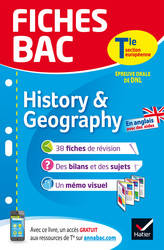 Fiches bac History & Geography Tle section européenne