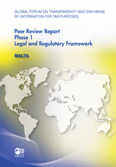 Global Forum on Transparency and Exchange of Information for Tax Purposes Peer Reviews: Malta 2012