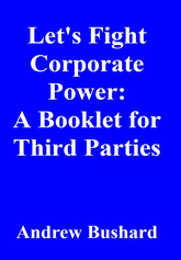 Let's Fight Corporate Power: A Booklet for Third Parties