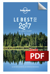 Le Best of 2017 de Lonely Planet