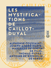 Les Mystifications de Caillot-Duval