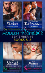 Modern Romance September 2016 Books 5-8