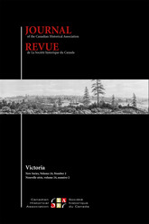 Journal of the Canadian Historical Association. Vol. 24 No. 2,  2013