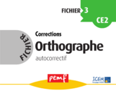 Fichier Orthographe 3 corrections