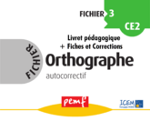 Fichier Orthographe 3 pack enseignant
