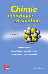Chimie analytique en solution (2e éd)