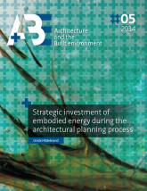 Strategic investment of embodied energy during the architectural planning process