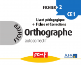 Fichier Orthographe 2 pack enseignant