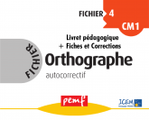 Fichier Orthographe 4 pack enseignant