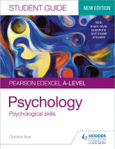 Pearson Edexcel A-level Psychology Student Guide 3: Psychological skills