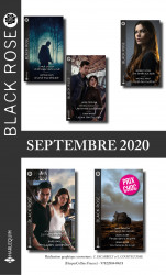 Pack Mensuel Black Rose : 11 romans (Septembre 2020)