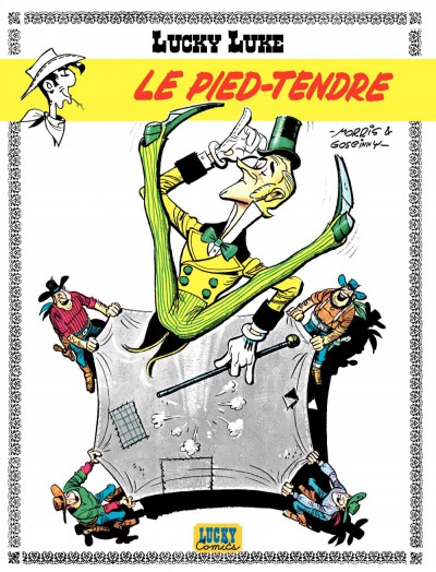 Lucky Luke  - tome 2 – Le Pied-Tendre