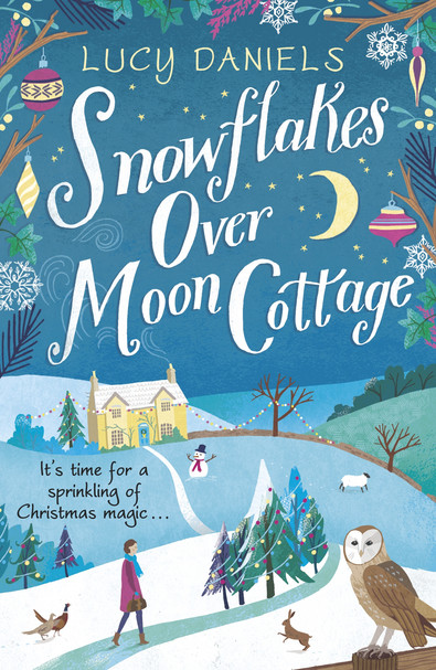 Snowflakes over Moon Cottage