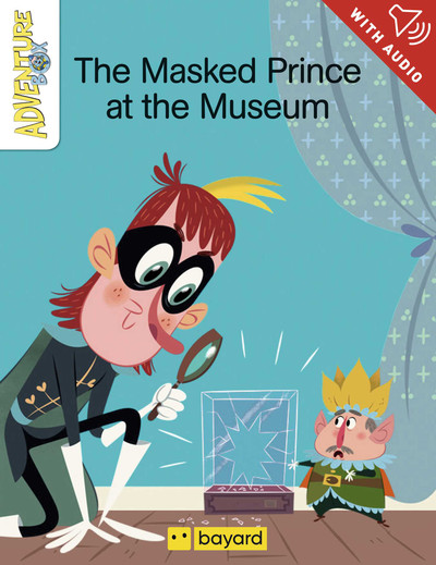 The Masked Prince at the museum