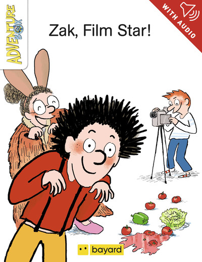 Zak, film star !