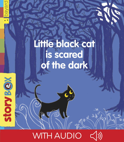 Little Black Cat is scared of the dark