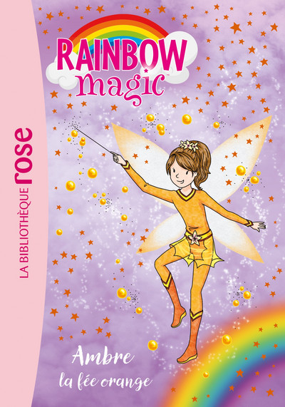 Rainbow Magic 02 - Ambre, la fée orange