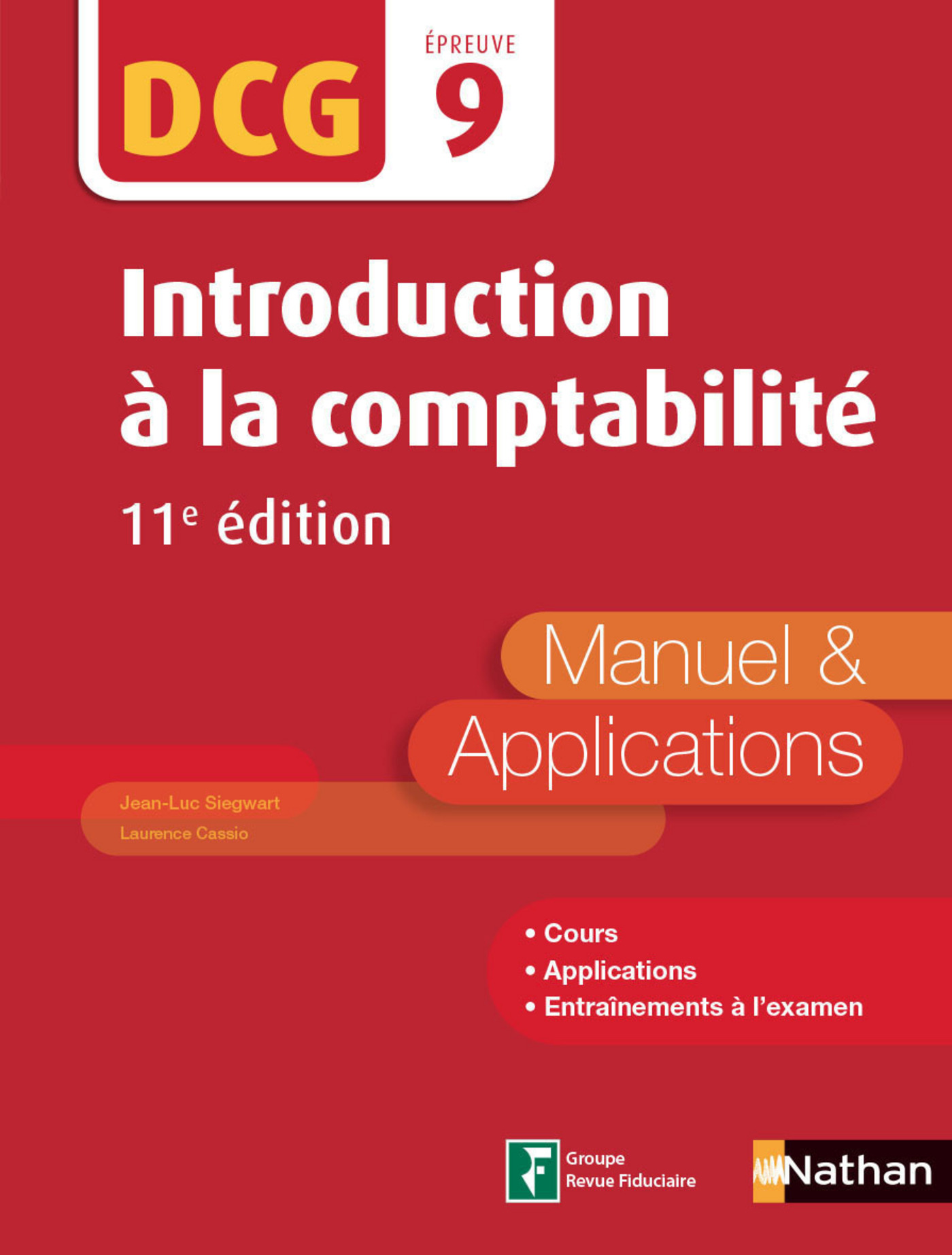 Introduction à la comptabilité - DCG 9 - Manuel et applications