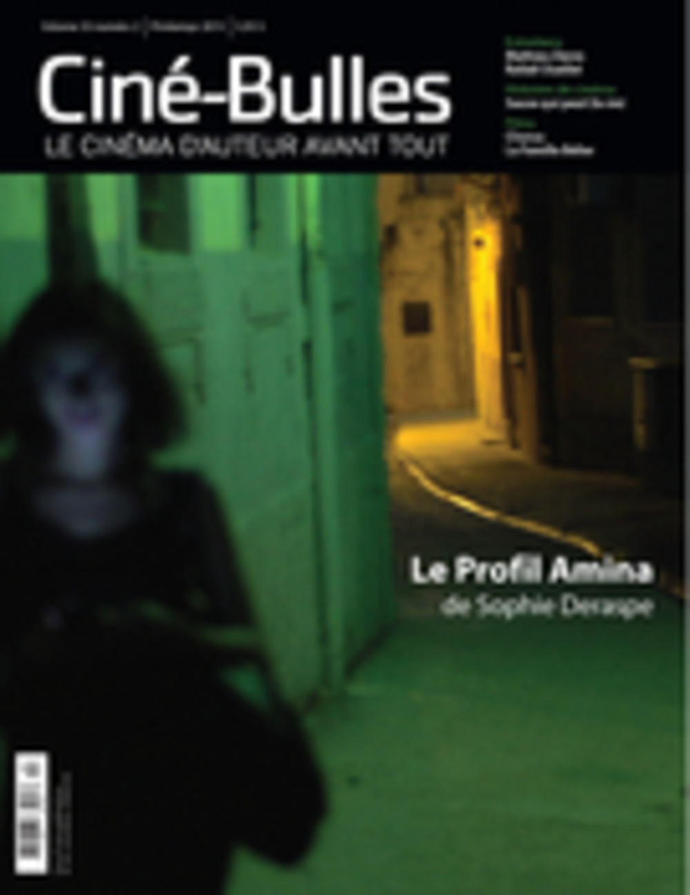 Ciné-Bulles. Vol. 33 No. 2, Printemps 2015