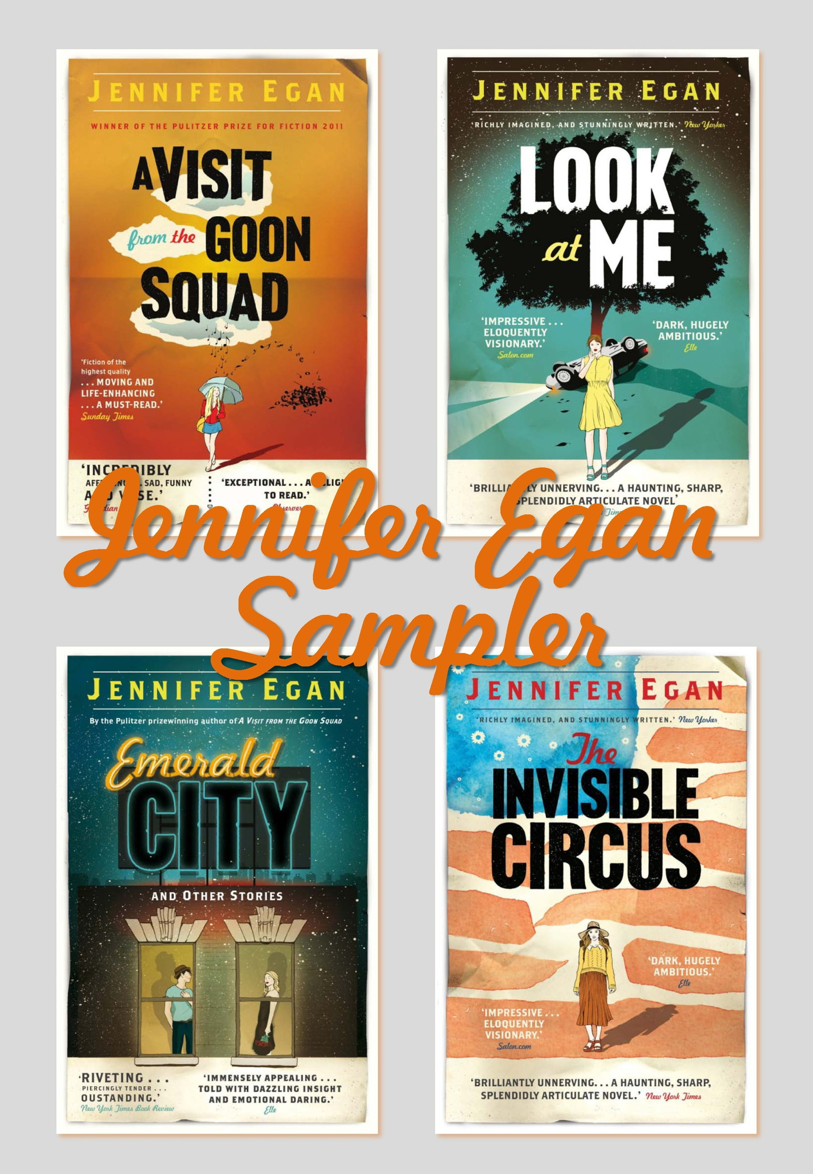 Jennifer Egan Sampler