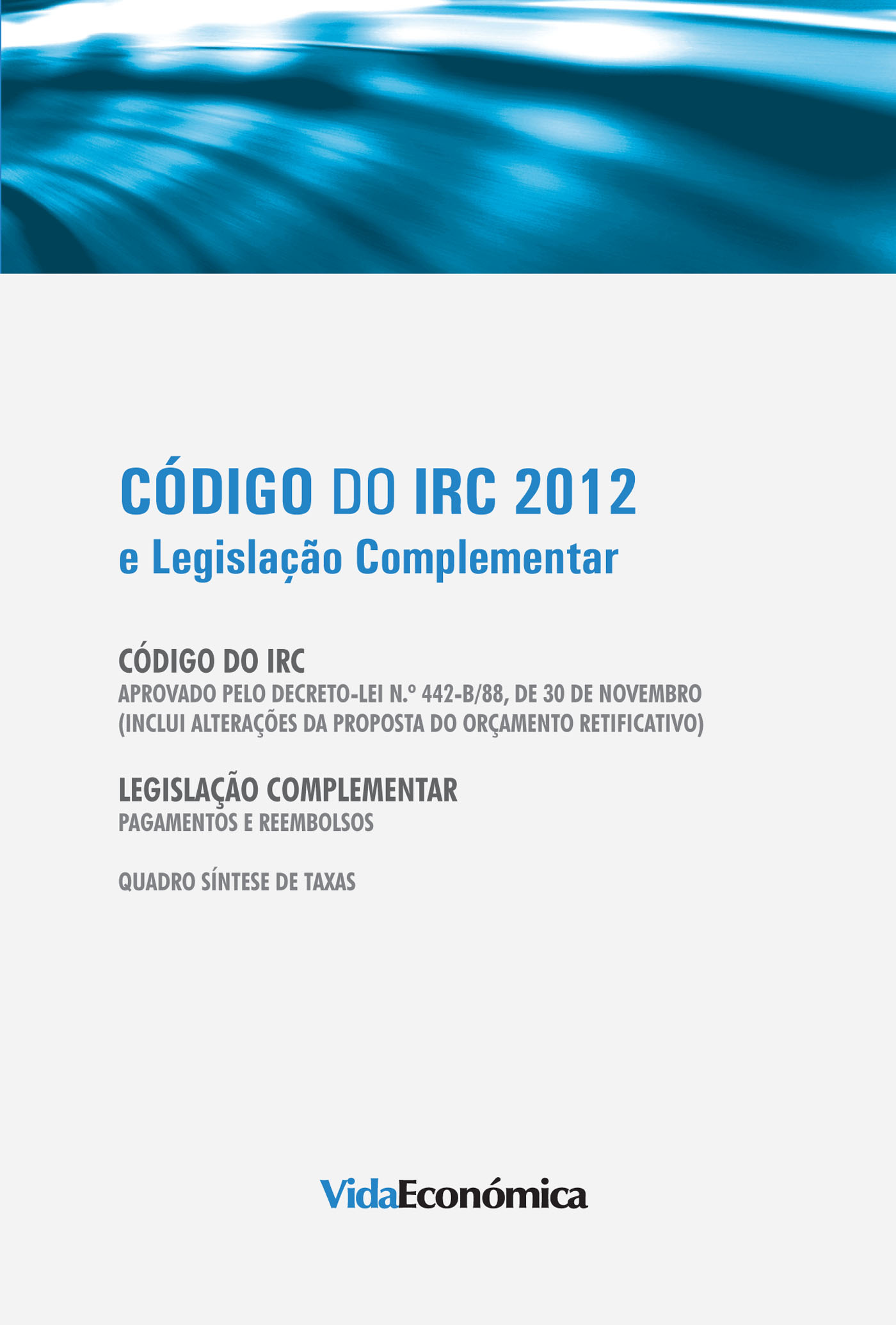Código do IRC 2012