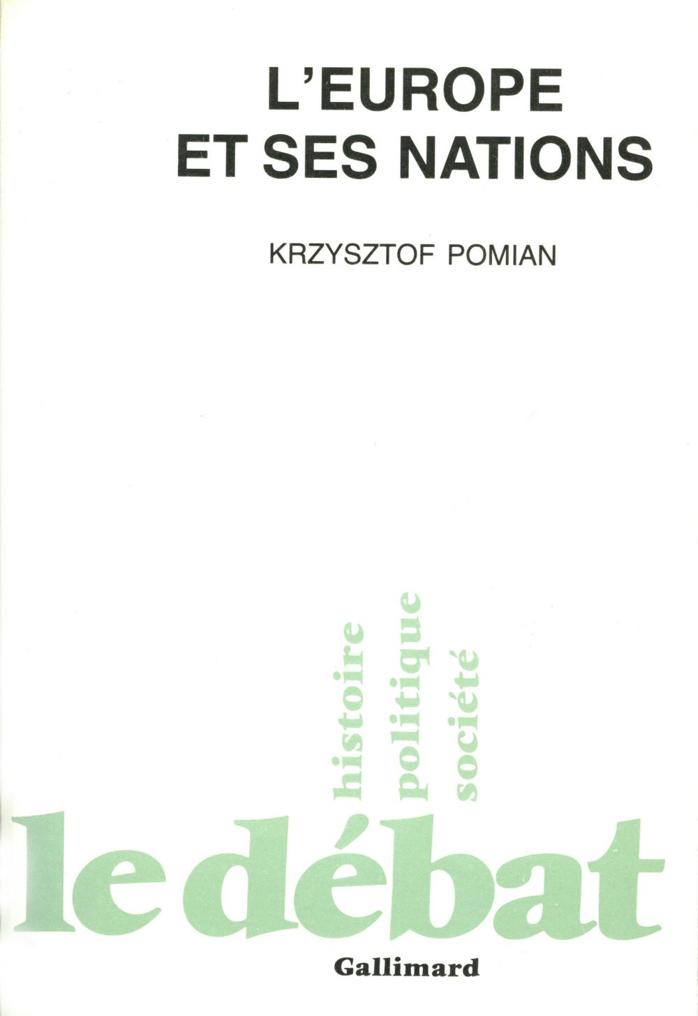 L'Europe et ses nations