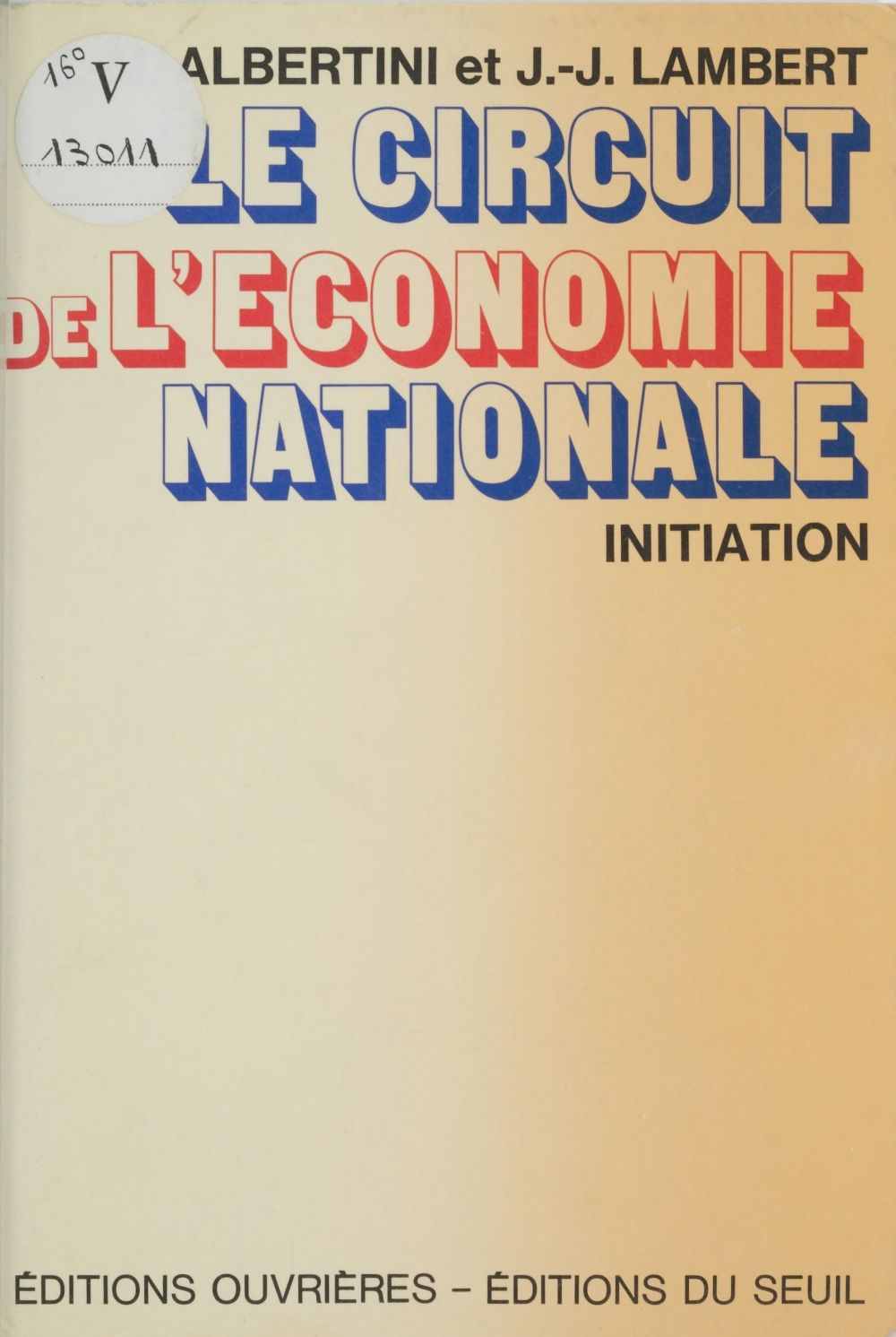 Le Circuit de l'économie nationale