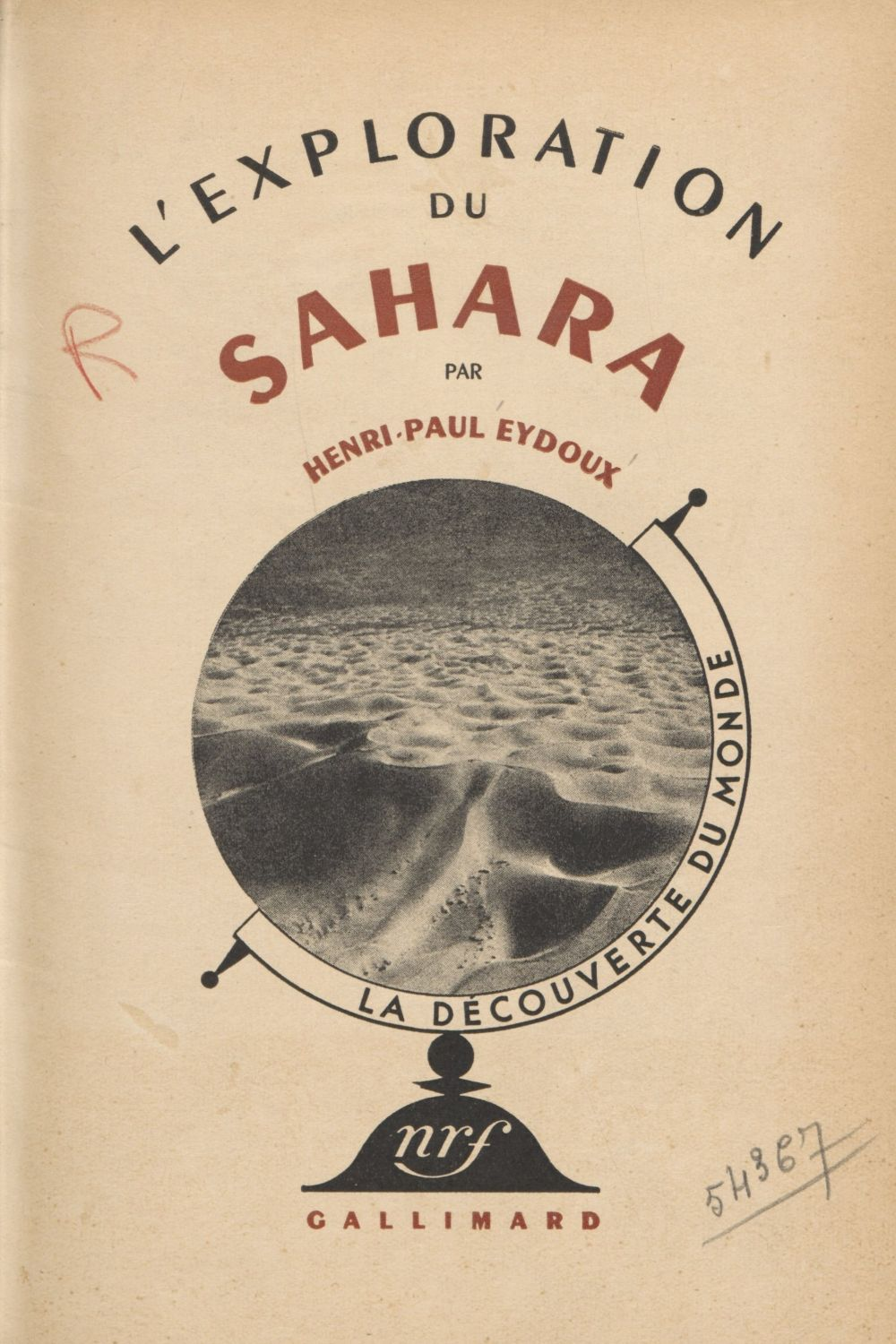 L'exploration du Sahara (4)