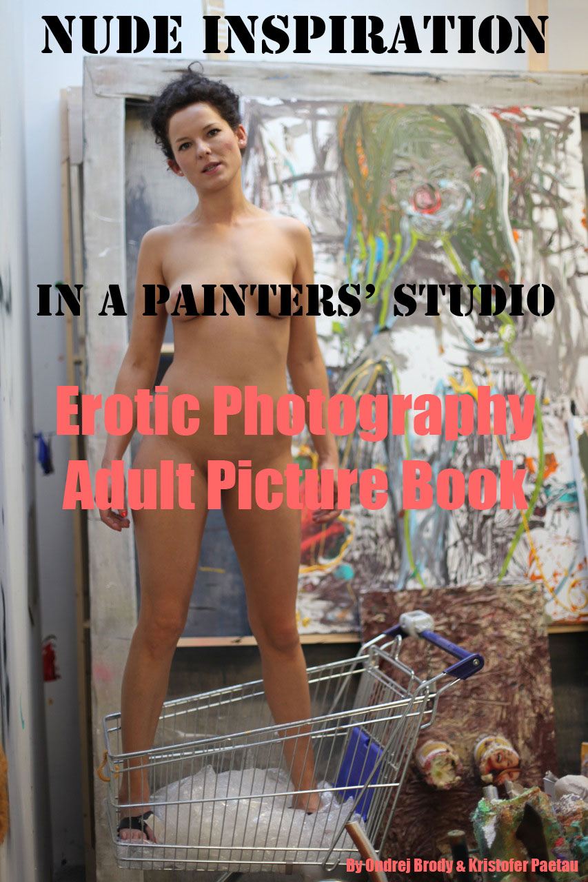 Nude Inspiration in a Painter's Studio (Adult Picture Book)