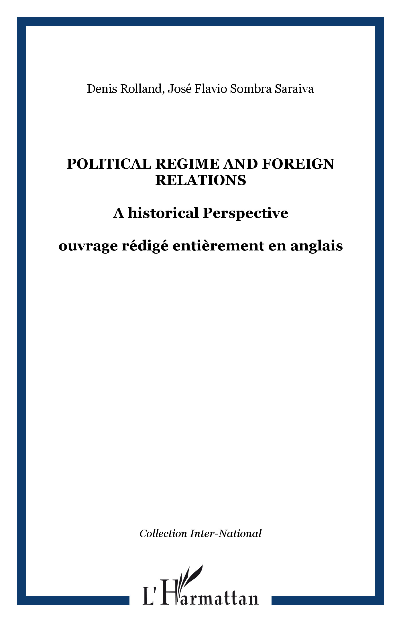 Political regime and foreign relations