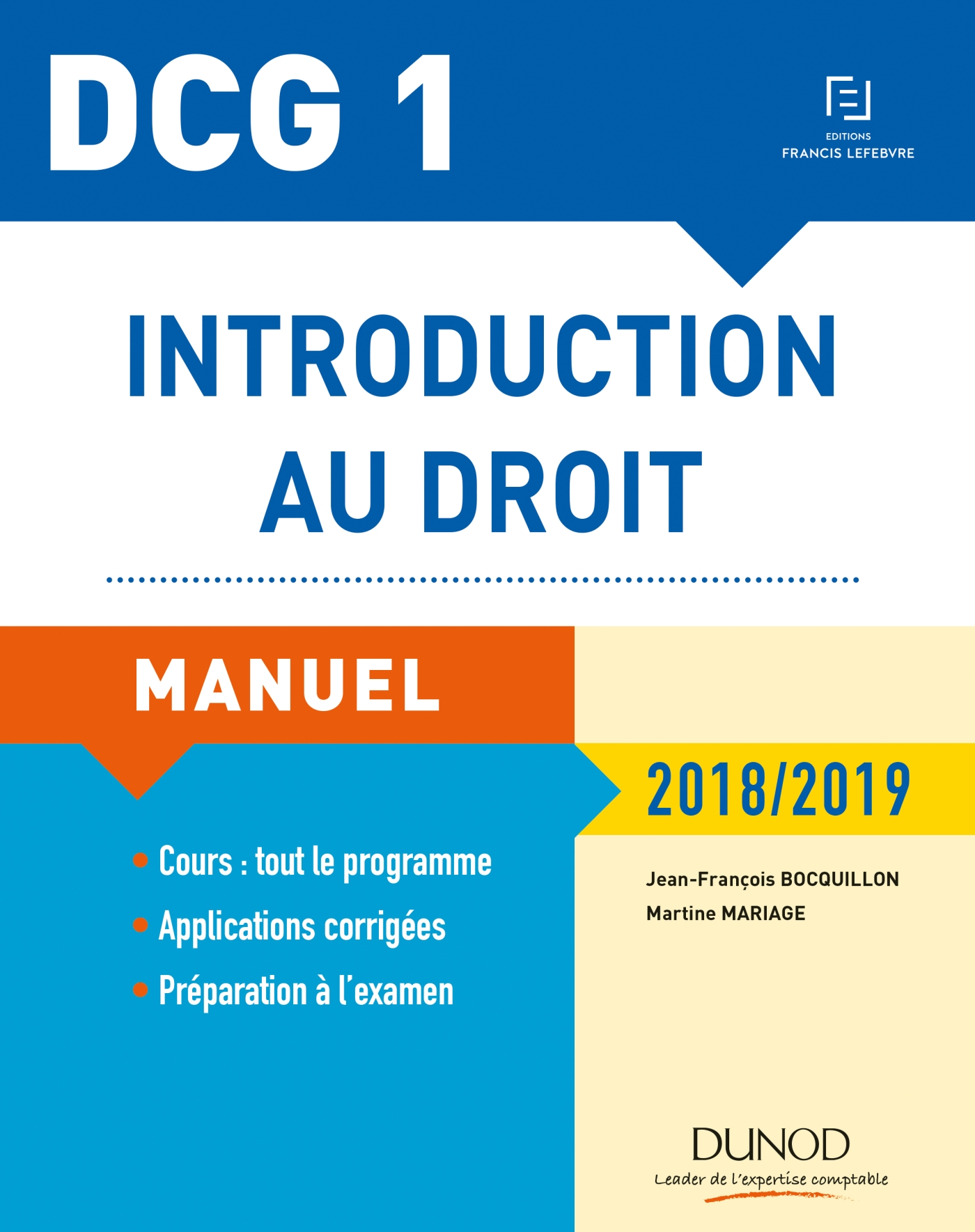DCG 1 - Introduction au droit - 12e éd.