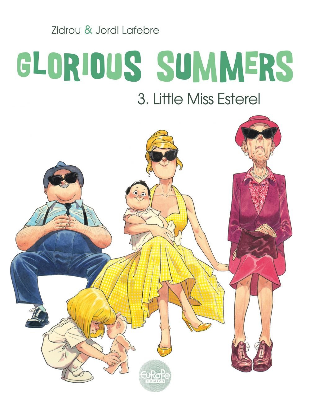 Glorious Summers 3. Little Miss Esterel