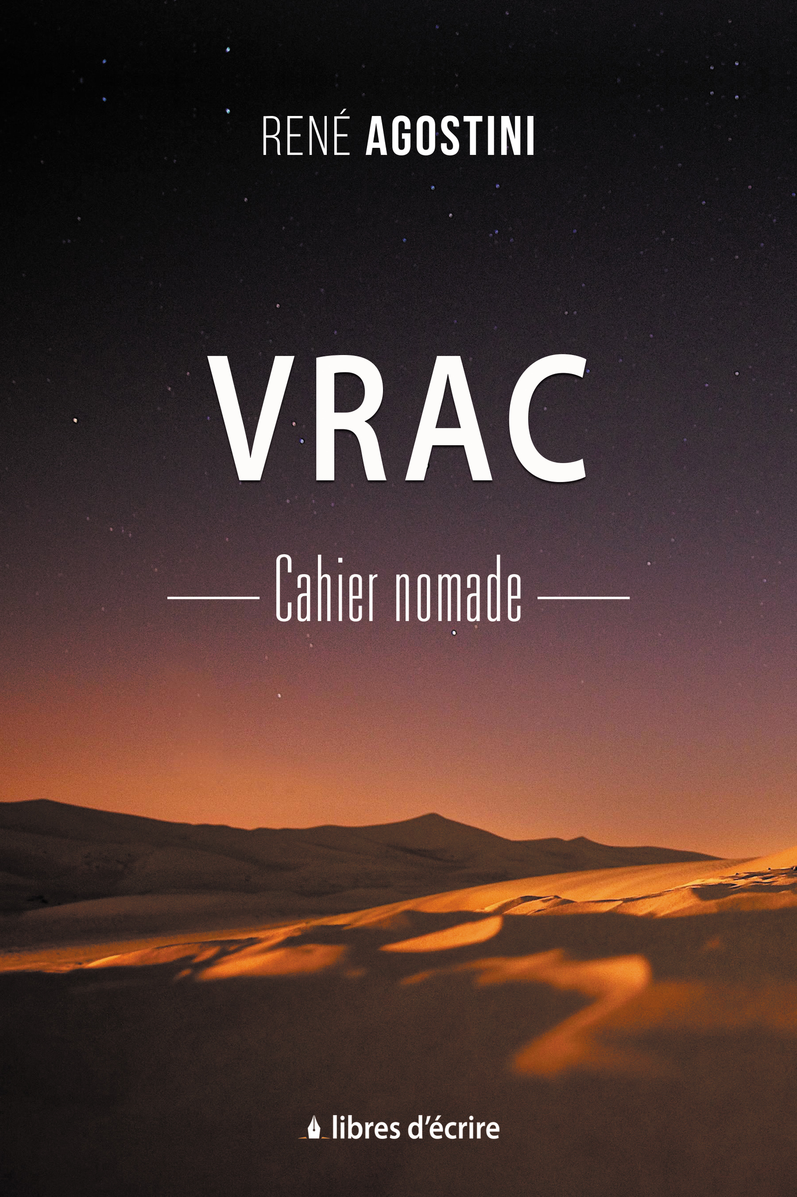 Vrac : Cahier nomade