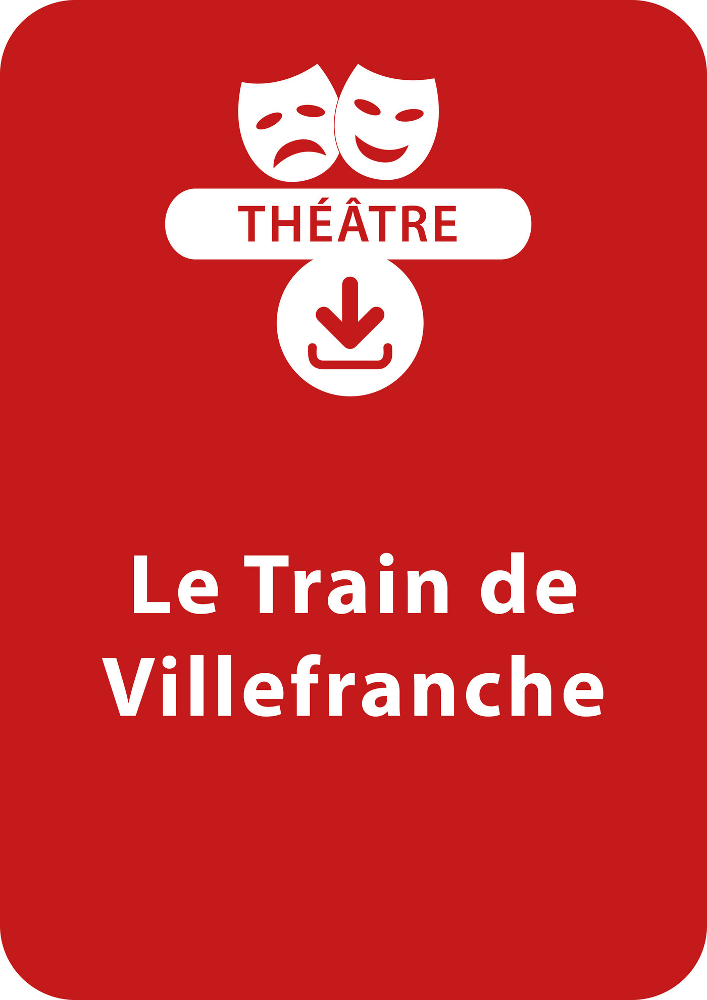 Le train de Villefranche