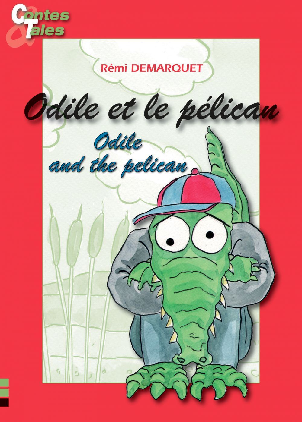 Odile et le pélican/Odile and the pelican