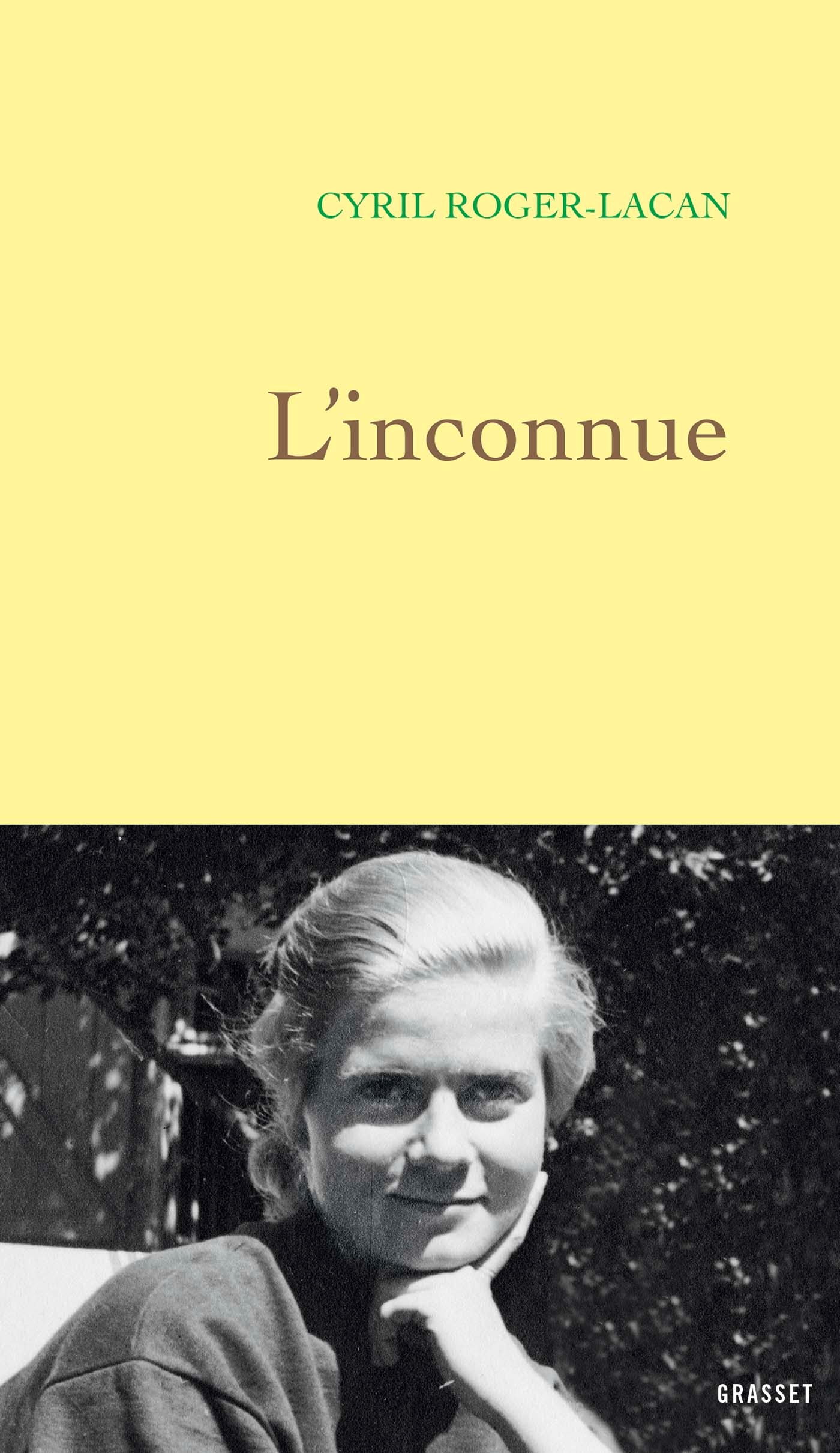 L'inconnue | Roger-Lacan, Cyril